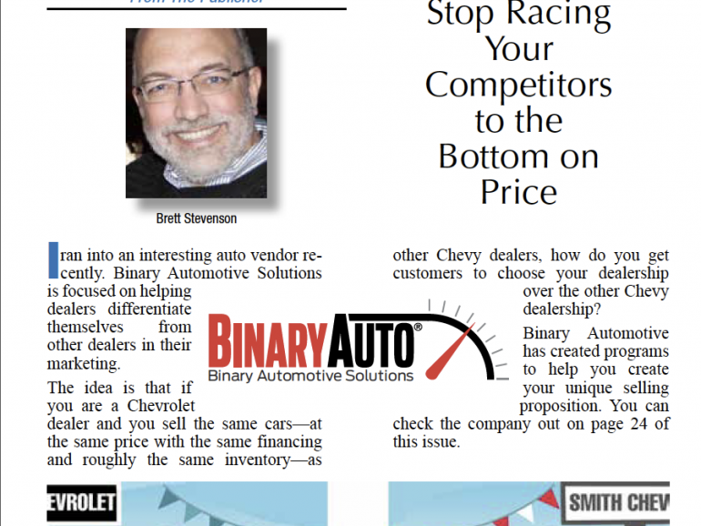Stop Racing Your Competitors to the Bottom on Price